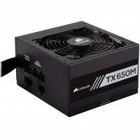Corsair 650W TX650M 80PLUS Gold Hybid Modular Power Supply / PSU