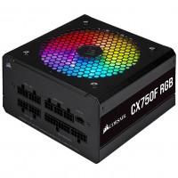 Corsair 750 Watt CX750F RGB Fully Modular Black PSU / Power Supply