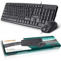 Compoint USB Full-Size Keyboard and Optical Scroll Mouse Bundle