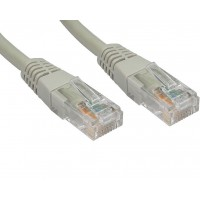 LMS Data 15m Grey Cat6 UTP Patch / Straight Networking Cable