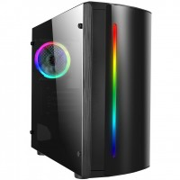 CiT Beam RGB Side Windowed Micro ATX PC Gaming Case