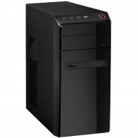 CiT Phaser Mid Tower Black PC Gaming Case with 500w PSU / Power Supply