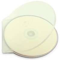 Single CD/DVD C-Shell Storage Case (CLEAR) - 200 BOX