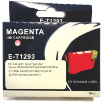 Epson T1293 MAGENTA Ink Cartridge with HUGE 16ml ink - for BX305F/FW, BX320FW, BX525WD, BX625FWD, SX420W, SX425W, SX525WD, SX620FW