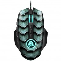 Sharkoon Drakonia II Optical USB Gaming Mouse - Black / Green