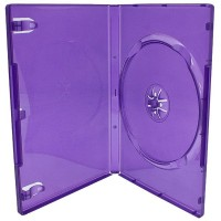 Digitalpromo REPLACEMENT Xbox 360 Purple Kinect Single DVD Case - EACH