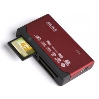 Dynamode 55 in 1 USB External Card Reader/Writer - Retail