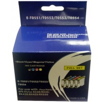 Epson R240, R245, RX420, RX425, RX520 etc. BLUE BOXED SET - 4 Cartridges