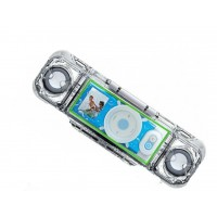 Ez'ech Icebar Waterproof Portable Speaker Case for 1st and 2nd Generation iPod Nano