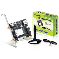 Gigabyte Combo Intel 11ac and Bluetooth V5 PCIe Wireless Network Card - BT & WiFi