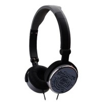 G-Cube G-POP II iHP-120BK Foldable Headphones in BLACK - Retail