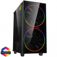 GameMax Black Hole ARGB Windowed Mid Tower PC Gaming Case