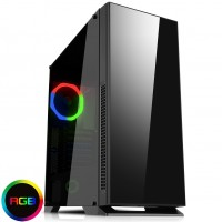 GameMax Hush Silent Tempered Glass Mid Tower PC Gaming Case