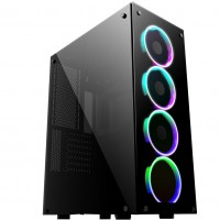 Game Max Predator RGB Tempered Glass Full Tower Gaming Case