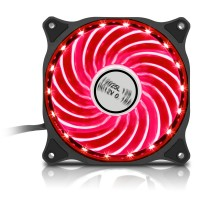 GameMax 12cm RGB LED Case Cooling Fan - 7 Colours - 18 Lighting Effects