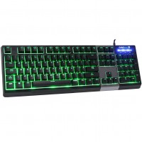 GameMax Click Mechanical Feel RGB Gaming Keyboard