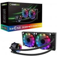 GameMax Ice Chill 240 mm ARGB AIO Intel / AMD CPU Water Cooler