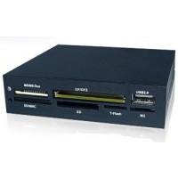 Hantol 3.5inch Internal 56 in 1 Multimedia Card Reader - H56BK