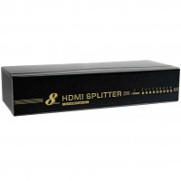 Dynamode 8 Port HDMI Splitter V1.4 High Speed 3D / Arc / Ethernet Ready - C-HDMI-SP-8