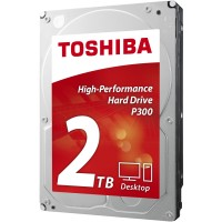 Toshiba P300 2TB 7200RPM 3.5 inch SATA High Performance Hard Drive - 2TB