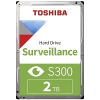 """Toshiba S300 2TB 3.5"""" Surveillance AV / CCTV Hard Drive - HDWT720UZSVA"""