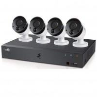 HomeGuard 1080P 8CH DVR & 4x 1080P PIR Heat Sensing Day / Night CCTV Cameras - 1TB Installed
