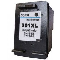 HP 301XL - HP CH563EE - High Capacity Recycled Inkjet Cartridge - BLACK