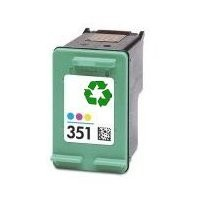 HP 351 Remanufacture / Recycled Inkjet Cartridge - (RH 351) - COLOUR