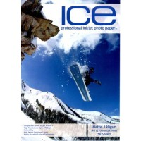 ICE Matte White Photo Inkjet Paper A4 190gsm - 50 SHEETS