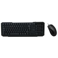 CiT USB Keyboard & Mouse Combo Bundle - Black