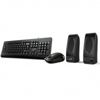 Genius KMS-U130 Keyboard Mouse and Speaker Combo Kit