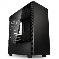 Kolink Castle Midi Tower Case with Hinged Tempered Glass Side