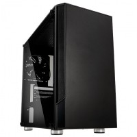 Kolink Citadel Micro-ATX Tower PC Case with Tempered Glass Side