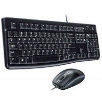 Logitech MK120 Wired USB Slim Keyboard and Optical Mouse Set