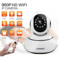Loosafe HD 960P Wireless IP Camera PTZ Wifi Night Vision Network Security Camera