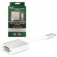 Maxam USB3.1 TYPE C MALE to SVGA FEMALE 15cm Adapter