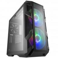 CoolerMaster MasterCase H500M Full Tempered Glass RGB Iron Grey PC Gaming Case