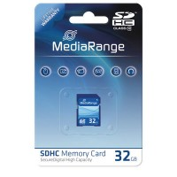 MediaRange MR964 SDHC 32GB Memory Card Class 10