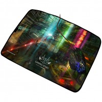 Sumvision Futuristic Neon Gaming Mouse Mat - Large