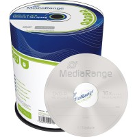MediaRange MR442 Branded 16x DVD-R - 100 TUB