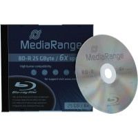 MediaRange MR498 BD-R 25GB 6x in Jewelcase - EACH