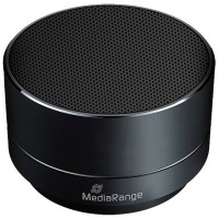 MediaRange MR733 Mini Speaker, Bluetooth, 3W, Hands Free Function, Micro SDHC Slot up to 32GB, Aluminum
