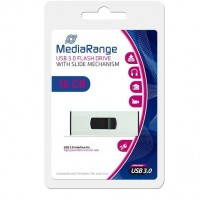 MediaRange 16GB USB3.0 SuperSpeed Capless Flash Drive - MR915