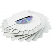 Mediarange BOX68 Cardboard Sleeve for CD and DVD - Pack of 50