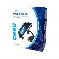 MediaRange MRMA202 Universal in Car Holder for Tablets and other Mobile Devices, with Suction Cup