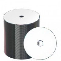 MediaStar 52962 TAIYO YUDEN WHITE FULL FACE PRINTABLE 16x DVD-R - 100 PACK