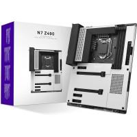 NZXT Intel Z490 N7 Matte White Socket 1200 ATX Motherboard