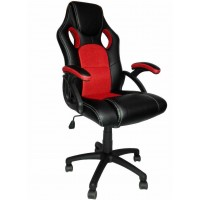 Neo Racing Style Gaming Chair in Black / Red Suitable for Home & Office