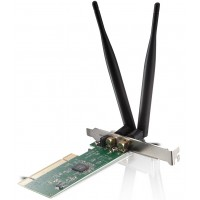 Netis WF-2118 300Mbps Wireless N PCI Adapter with Two Detachable Antennas
