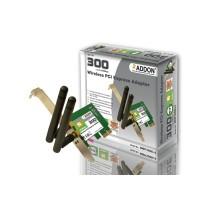 Addon Technology NWP300Ev3 11N 300Mbps Wireless PCI Express Adapter